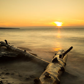 Superior Shores by Andy Taber - Landscapes Sunsets & Sunrises (  )