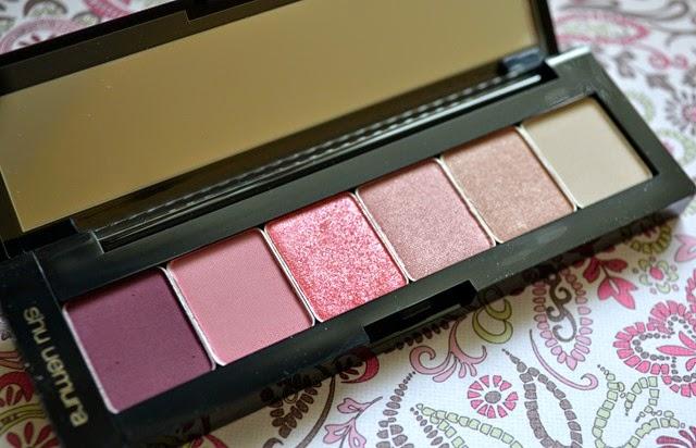 shu uemura pret a palette eye makeup in Pink Hues