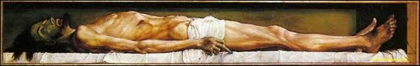 Holbein, Le Christ mort
