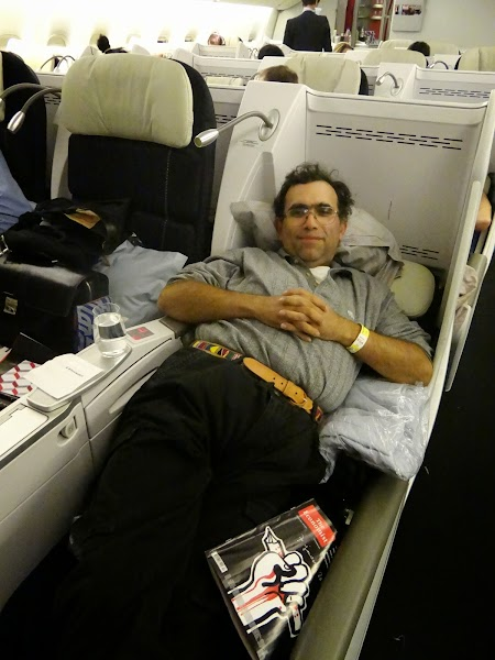 21. Pat - business class Air France.JPG
