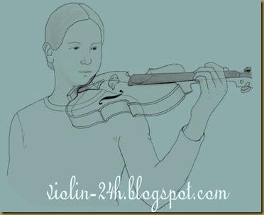 cach kep dan violin