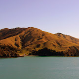 First Look at the South Island - Cook Strait, New Zealand