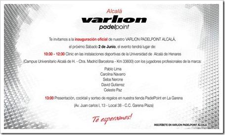 VARLION inaugura su tienda PadelPoint en el C.C La Garena de Alcalá de Henares.