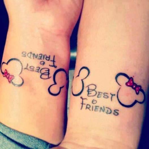 Amazing Tattoo Designs: Best Friend Tattoos