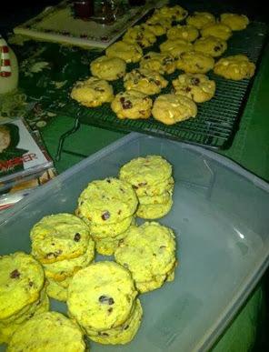 christmas baking 1