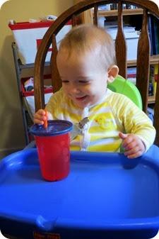 Drinking through a Straw