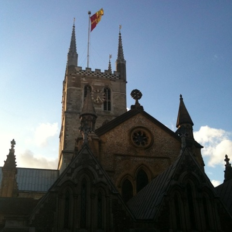 Southwark Cathedral - eastern aspect