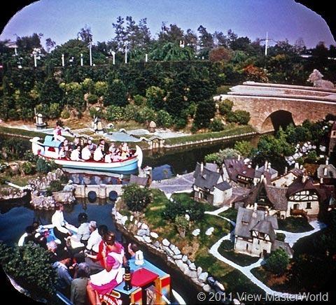View-Master Fantasyland (A178), Scene 2-7: Storybook Land Canals