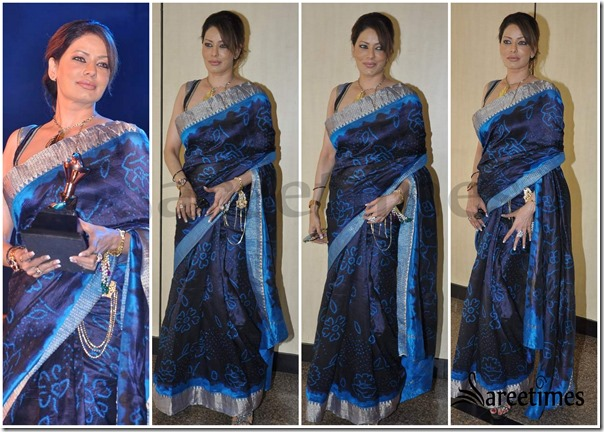 Blue_Printed_Saree