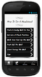 How To Do A Handstand - screenshot