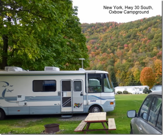 New York, Hwy 30 South, Oxbow Campground