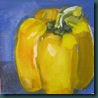 yellow pepper pntg