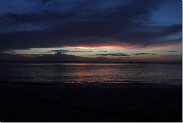 Sunset from Ban Kantiang Bay, Ko Lanta, Thailand