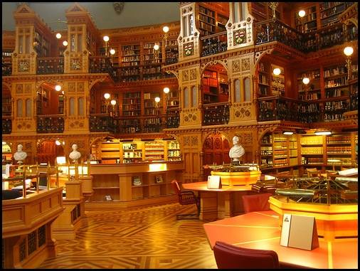 Canadian Library of Parliament, Ottawa, Canada