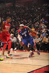 lebron james nba 130217 all star houston 48 game 2013 NBA All Star: LeBron Sets 3 pointer Mark, but West Wins
