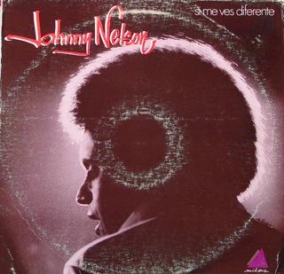 Johnny Nelson  Si Me Ves Diferente  LP Front