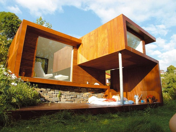 Arquitectura contempor nea para una casa de retiro idecorar for Estilos de arquitectura contemporanea