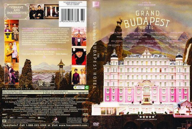 El Gran Hotel Budapest – Castellano – DVD9