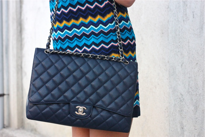 missoni for taget, chanel blue bag
