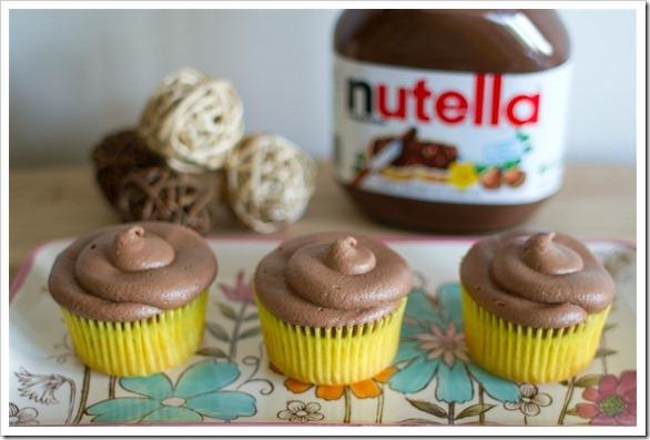 Nutella Banana Cupcakes-5