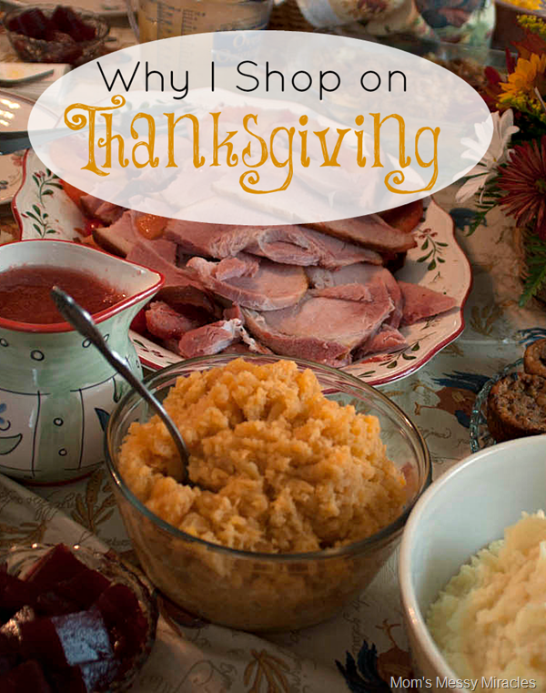 Why I Shop on Thanksgiving