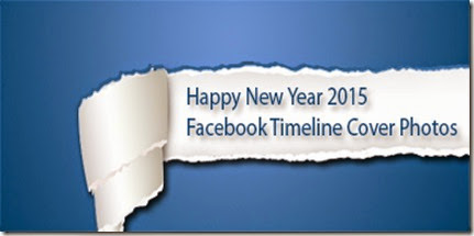 Happy New Year 2015 Facebook Timeline Cover Photos