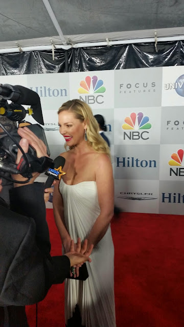 Katherine Heigl at the 2015 Golden Globes NBC After Party