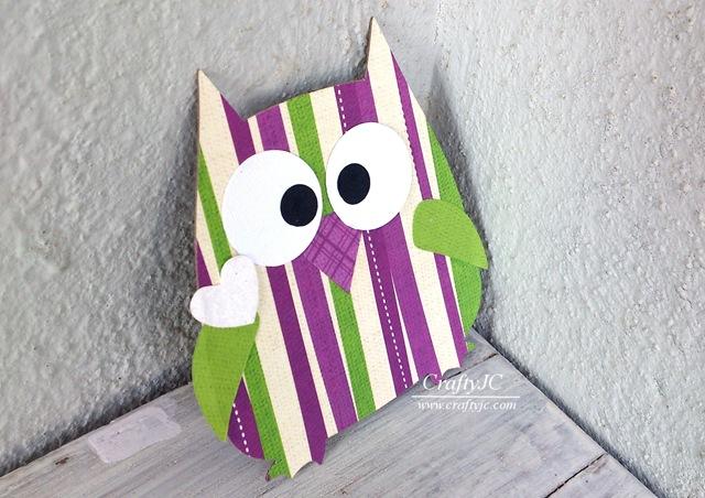 CraftyJC Sizzix Owl 657694