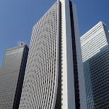 skyscrapers in shinjuku in Shinjuku, Tokyo, Japan