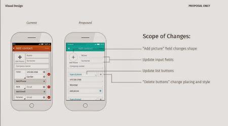 Firefox OS - nuova UI proposta
