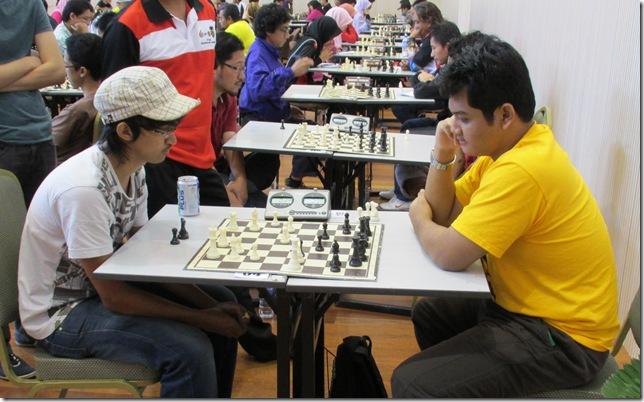 Muhd Syazwan vs Hanif Basri, round 7