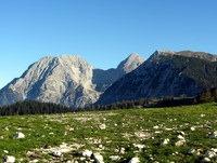 Kalški greben s Kočnama in Grintovcem v ozadju