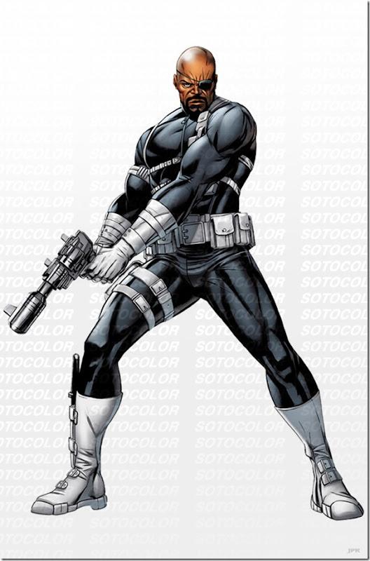Nick Fury,Nicholas Joseph,Samuel L. Jackson, David Hasselhoff (38)