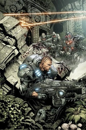 Gears of War. Art by Liam Sharp.