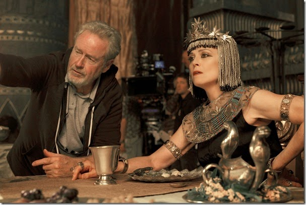 ridley scott and sigourney weaver EXODUS GODS AND KINGS