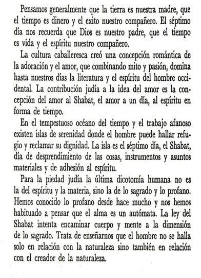 Shabat - Heschel 2 Vers. Impr.