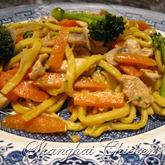 shanghai chicken noodle