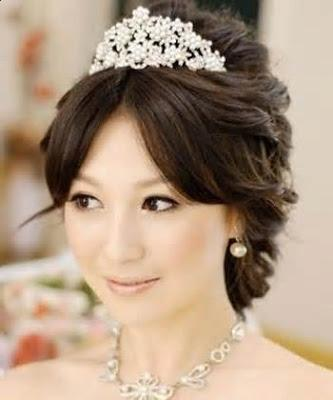 Korean Bridal Hairstyle For Women
