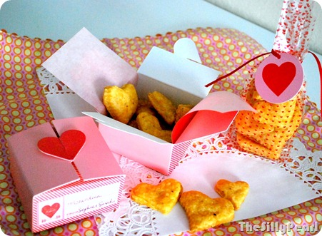 Cheesy Heart Crackers Martha Stewart Crafts Valentine Packaging