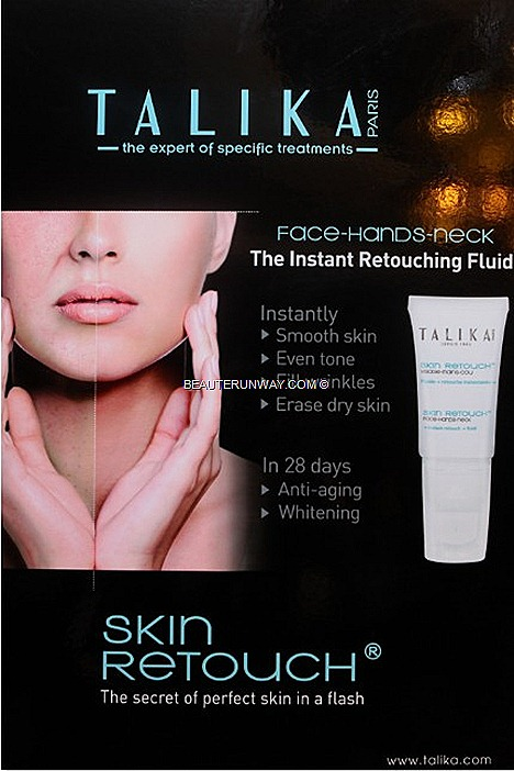 TALIKA SKIN RETOUCH primer conceal wrinkles fills fine lines brighten reduce imperfections redness REVIEW FLAWLESS SKIN