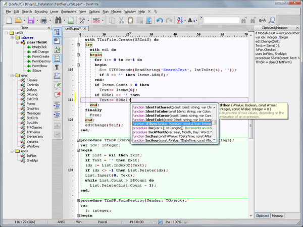 SynWrite: Powerful Text Editor and UltraEdit Alternative
