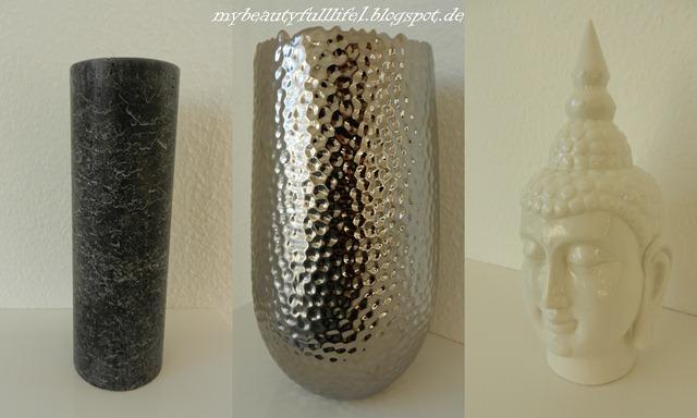 Vase, Buddha, Kerze