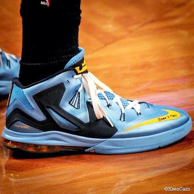 nike air max ambassador 6 pe mike miller grizzlies 1 02 Mike Millers Nike Ambassador 6 Memphis Grizzlies PE