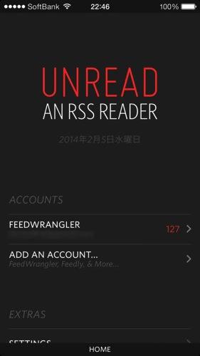Unread rss reader feed wrangler ios app1