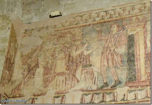 Pinturas murales siglo XIII - San Pedro el Viejo - Huesca