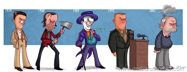 Jeff-Victor-The-Evolution-of-the-Famous-Actors-Jack-Nicholson-Final