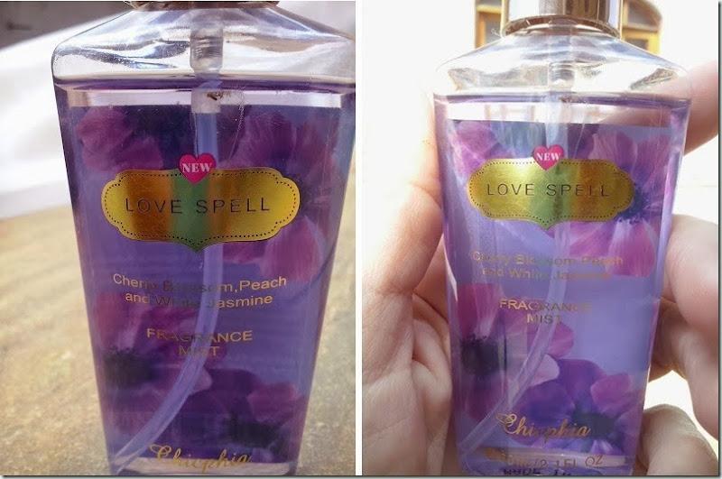 TOP! victoria's secret: Body splash love spell