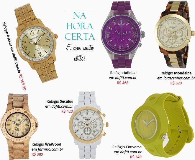 Relógios femininos comprar modelos