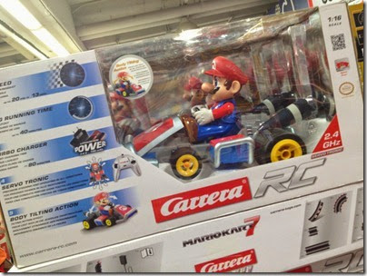 Carrera Mario Kart with controller