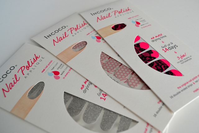 Review | Incoco Nail Polish Appliques | Cosmetic Proof | Vancouver ...